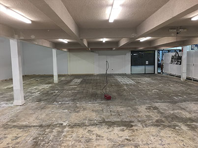 asbestos tile removal process